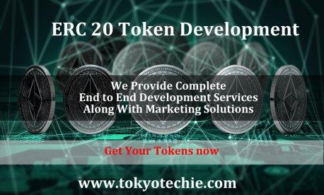 tokyo techie is the Best ERC 20 Token development company